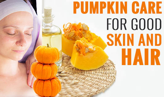 Pumpkin Care for good skin and hair