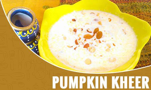 Pumpkin Kheer
