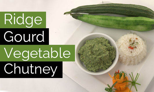 Ridge Gourd Vegetable Chutney