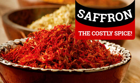 Saffron - The Costly Spice!