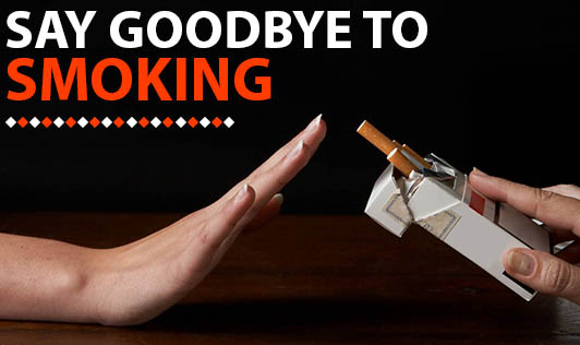 Say Goodbye To Smoking