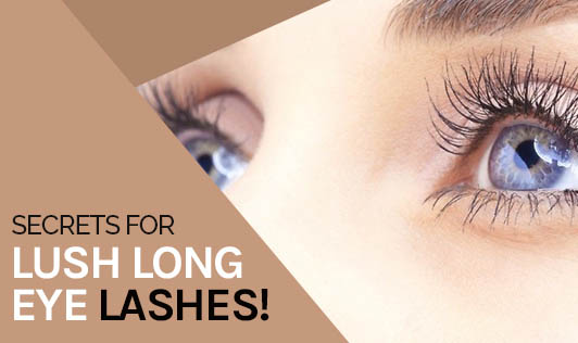 Secrets for Lush, Long Eyelashes!