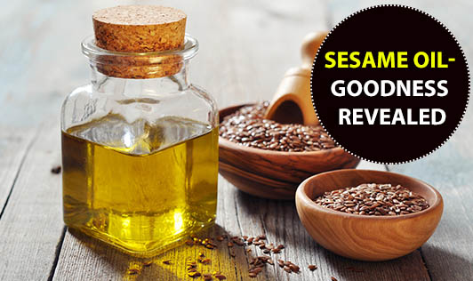 Sesame oil - Goodness Revealed