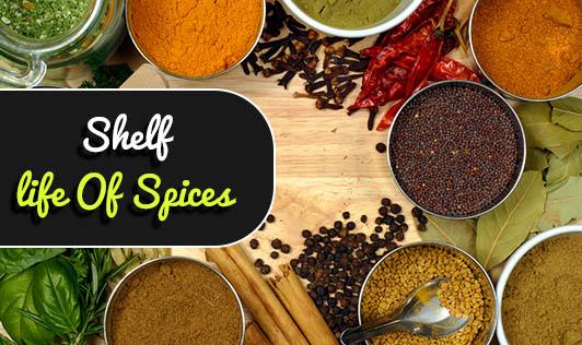 Shelf-life Of Spices