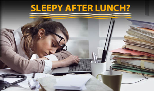Sleepy after lunch??