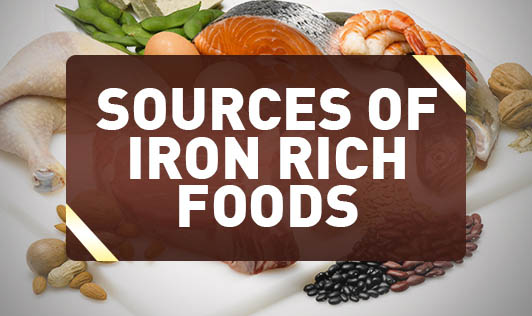 Sources of Iron Rich Foods
