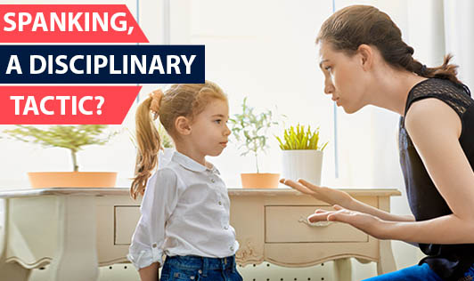 Spanking, a disciplinary tactic?