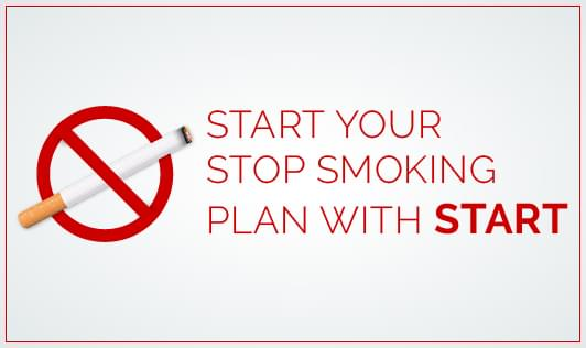 Start your stop smoking plan with START