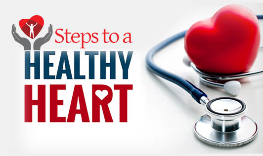 Steps to a healthier Heart