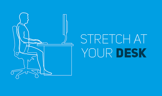 Stretch at your desk