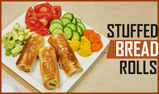 Stuffed Bread Rolls