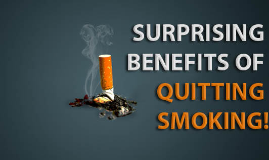 Surprising Benefits of Quitting Smoking!