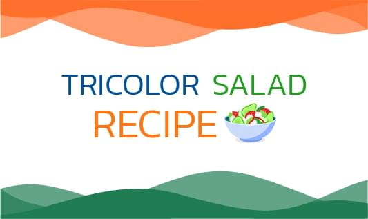 TRICOLOR SALAD RECIPE
