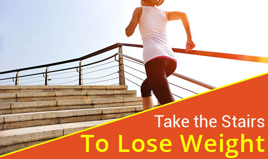 Take the Stairs to Lose Weight