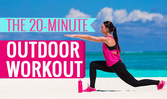 The 20-minute outdoor workout