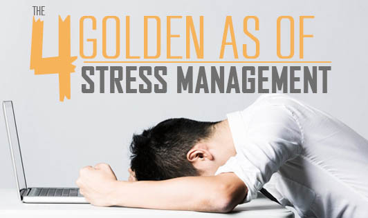 The 4 Golden 'A's of Stress Management