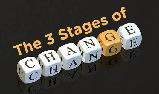 The Three Stages of Change