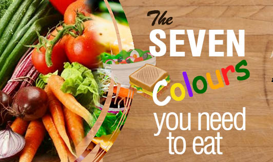 The seven colours you need to eat