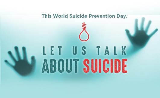 Let us talk about suicide
