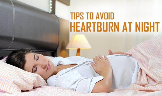 Tips To Avoid Heartburn At Night