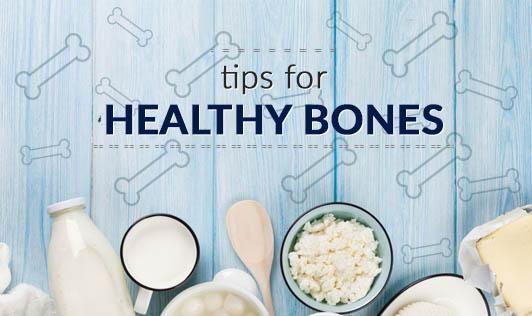 Tips for healthy bones