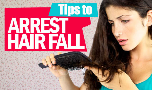 Tips to Arrest Hair Fall