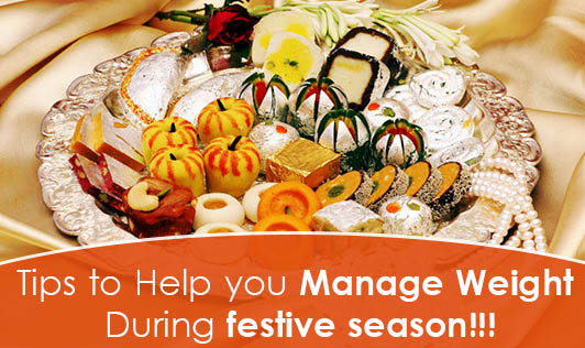 Tips to help you manage Weight during festive season!!!