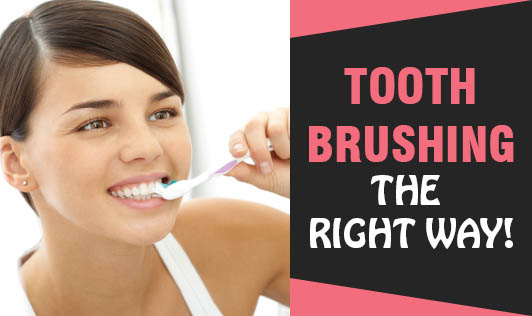 Tooth Brushing - The Right Way!