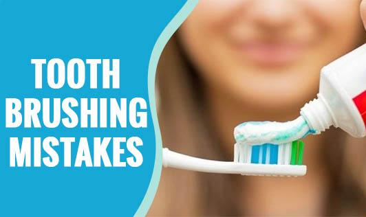 Toothbrushing Mistakes