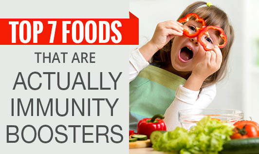 Top 7 foods that are actually immunity boosters