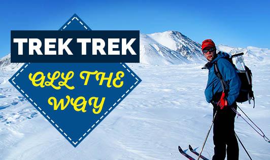 Trek trek all the way!