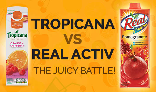 Tropicana vs Real Activ - The Juicy Battle!