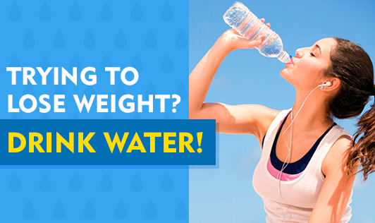 Trying to Lose Weight? Drink Water!