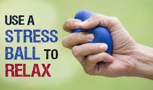 Use A Stress Ball To Relax