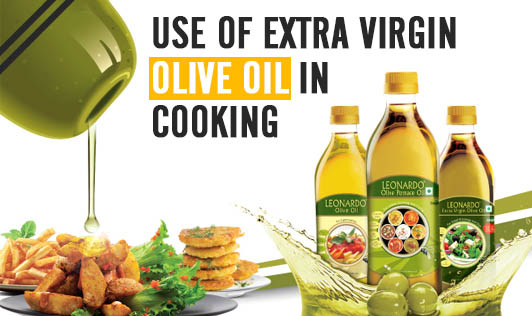 Use of extra-virgin olive oil in cooking