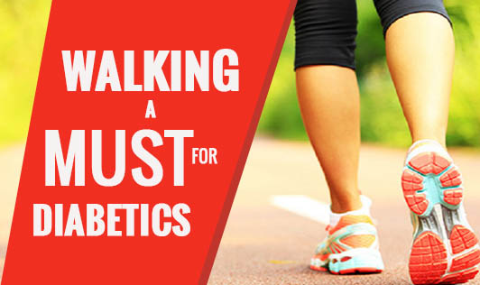 Walking: A Must for Diabetics