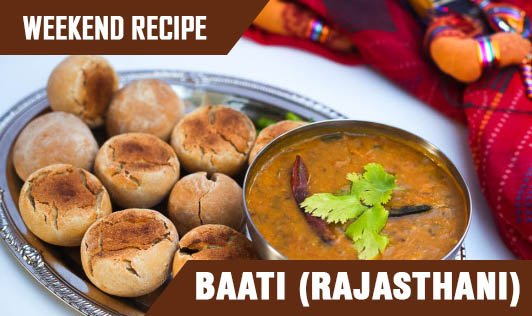 Weekend Recipe - Baati (Rajasthani)