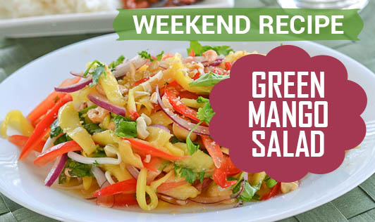Weekend Recipe - Green Mango Salad