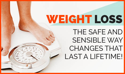 Weight Loss the Safe and Sensible Way: Changes that last a lifetime!