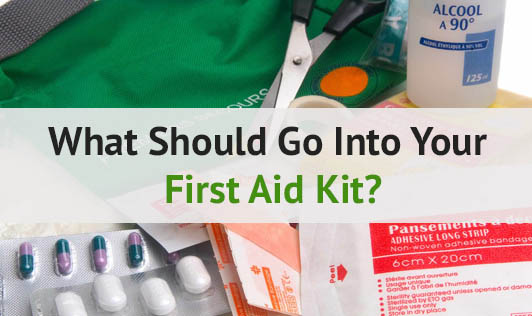 What Should go Into Your First Aid Kit?
