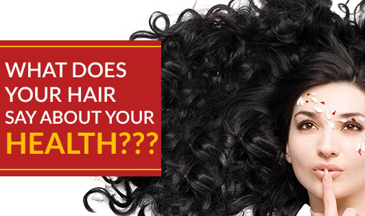 What does your hair say about your health???