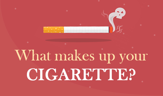 What makes up your cigarette?