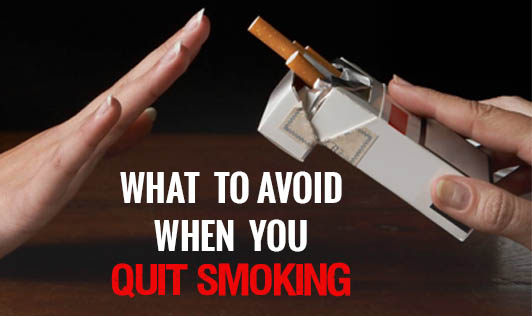 What to Avoid When You Quit Smoking