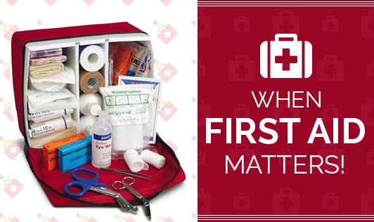 When First Aid Matters!