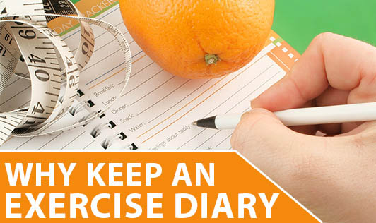 Why keep an exercise diary