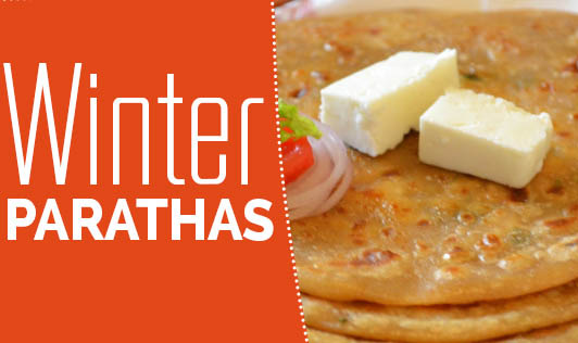 Winter Parathas