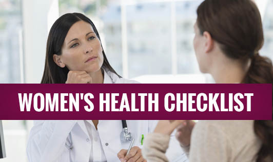 Women's Health Checklist