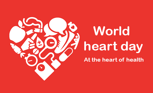 World heart day- at the heart of health