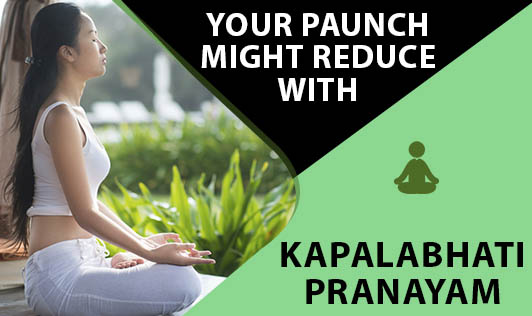 Your Paunch Might Reduce With KAPALABHATI Pranayam