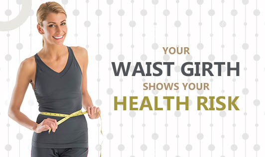 Your Waist Girth Shows Your Health Risk